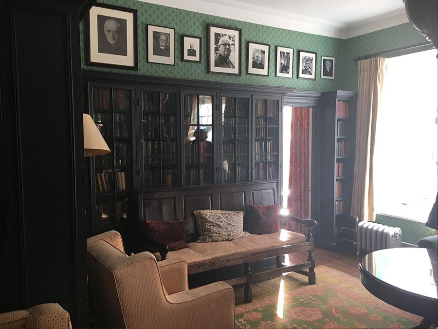 St Marys Bourne Street - Library